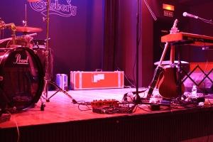 Escenario del concierto en el Café España