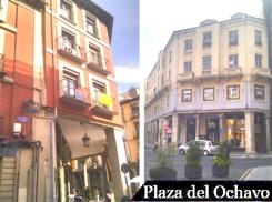 Locales en venta y alquiler en la plaza del Ochavo de Valladolid