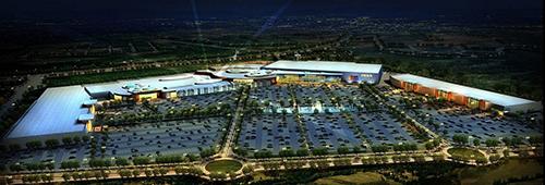 Recreación del CC Río Shopping junto a Ikea