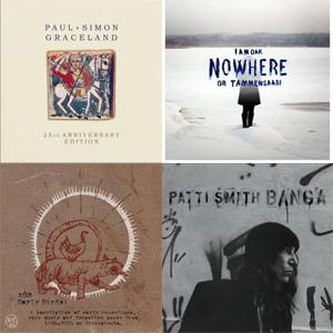 Paul Simon | I am Oak | múm | Patty Smith