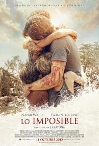 Cartel oficial de Lo imposible