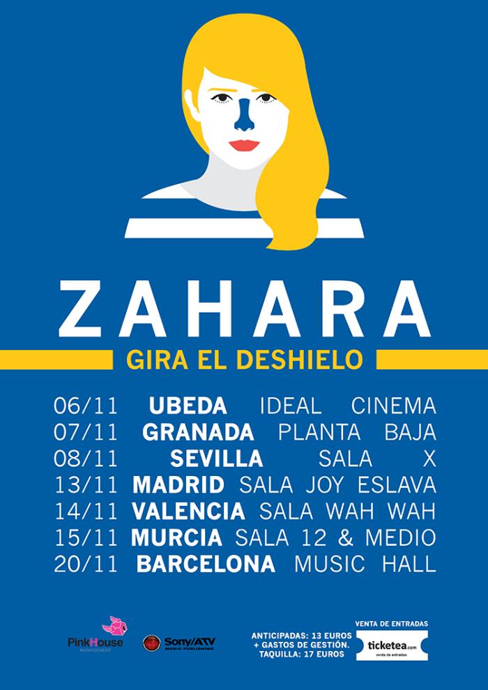 Zahara - Cartel Gira
