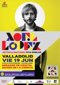 Xoel López en Valladolid