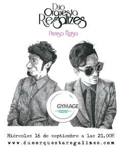 Dúo Orquesta Regalizes - Concierto Gymage