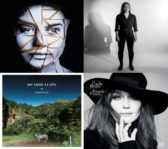 Ibeyi | The Weather Station | Ricardo Lezón | Carla Bruni