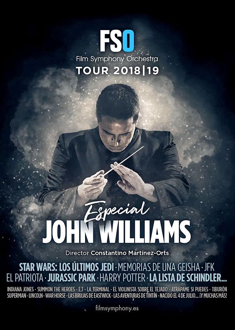 Cartel Especial John Williams