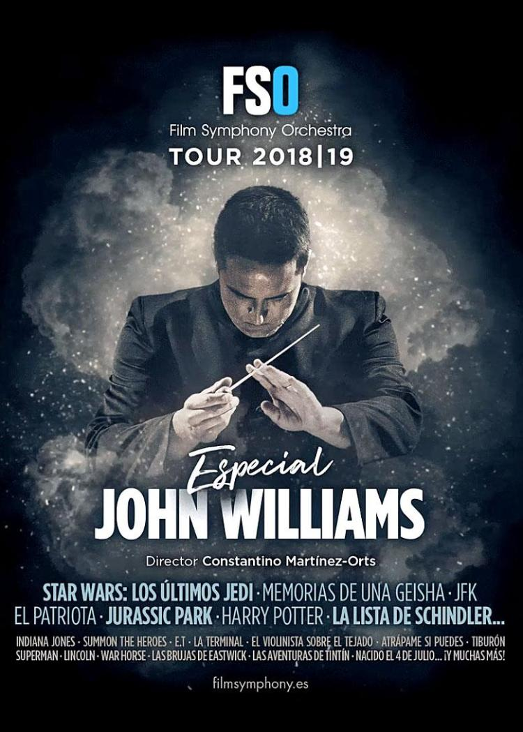 Cartel Especial John Williams